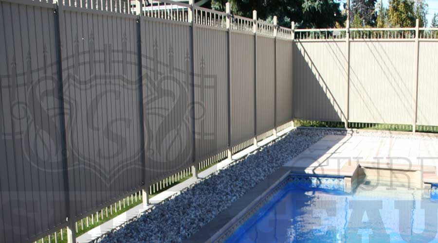 Cl tures ornementales en aluminium cl ture sauvageau for Cloture amovible piscine quebec